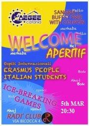welcome aperitif